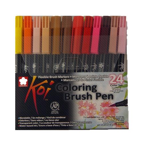 Koi Colouring Brush Pens