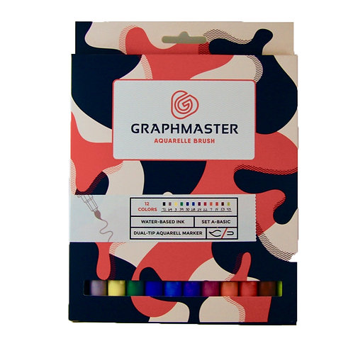 Graphmaster Aquarelle Brush