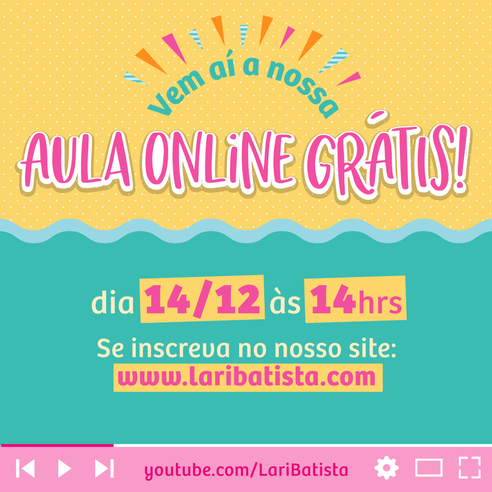 Aula Online 14/12 - GRÁTIS