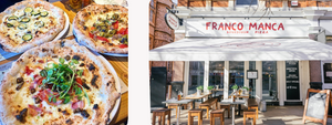 Food, Restaurant, Franco Manca, Pizza, Italian, Eating Out, London, Battersea, Clapham Junction