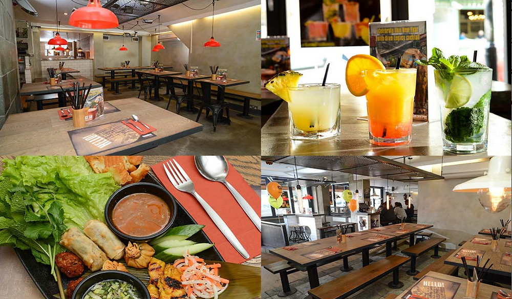 Food, Dining, Eating Out, Banana Tree, Clapham Junction, Battersea, London, Local