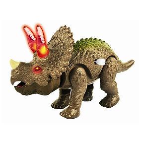 Dino - 24375 LIGHT & SOUND WIND-UP TRICE