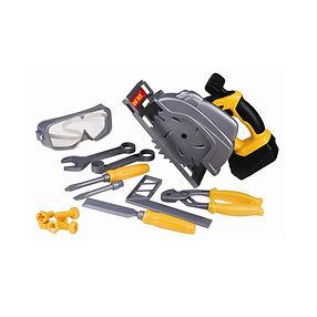 RedBoxToy Powerized Circular Saw & Tool Set