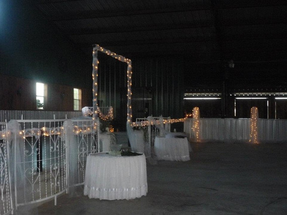 Stage area
