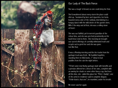 Our Lady Of The Back Fence