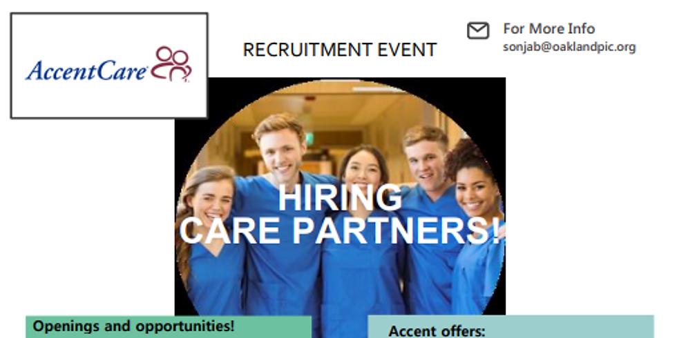 AccentCare OnSite Hiring Event