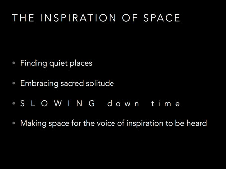 The Inspiration of Space