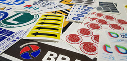 Industriële stickers