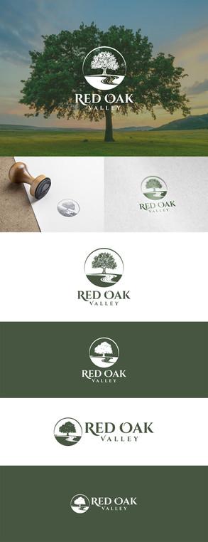 Red Oak Valley Logo & Brand Design - GRO