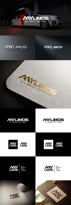 All About You Limos Logo Design
