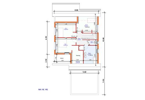 Projet Maison individuelle - Rez + Combles 2 (3)