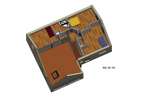 Projet Maison individuelle - Rez + Combles 1 (3)