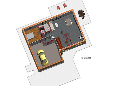 Projet Maison individuelle - Rez + Combl