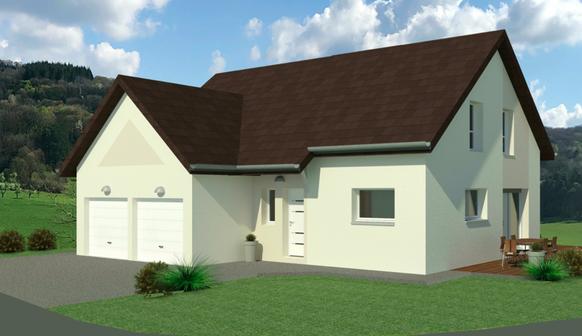 Projet Maison individuelle - Rez + Combles 1 (1)