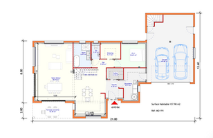 Maison individuelle - Bac acier 1 (4).pn