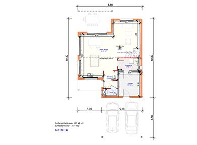 Projet Maison individuelle - Rez + Combles 2 (2)