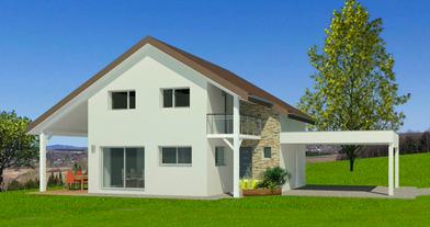 Projet Maison individuelle - Rez + Combles 2 (1)