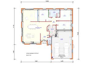 Projet Maison individuelle - Plain pied (2)