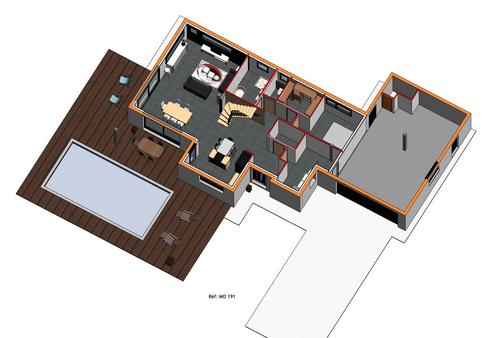 Maison individuelle - Bac acier 1 (3).pn