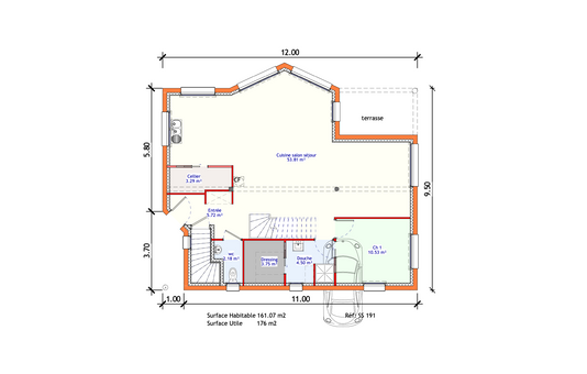 Projet Maison individuelle - Sous-sol 1 (2)
