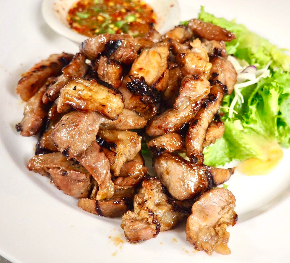 CHARCOAL-GRILLED PORK NECK
