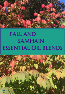 fall leaves for fall and samhain essential oil blends image