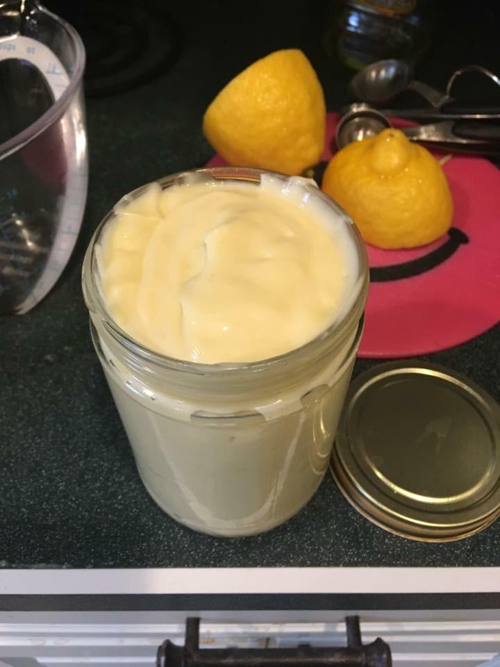 paleo bacon lemon lemony mayonaise