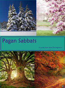 wiccan pagan holiday, sabbat, celebrations, cheat sheet, wheel of the year,