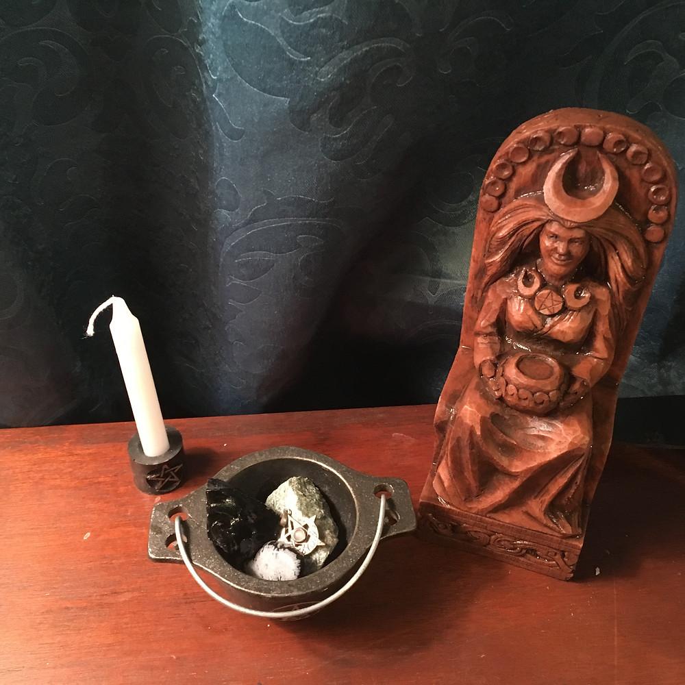 Pagan statuette
