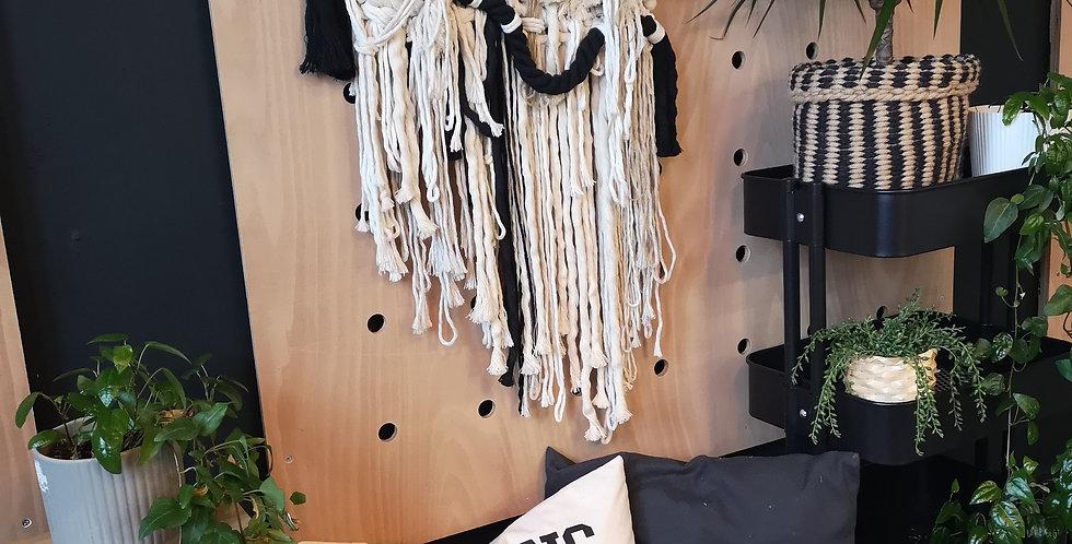 Macraweave wall hanging