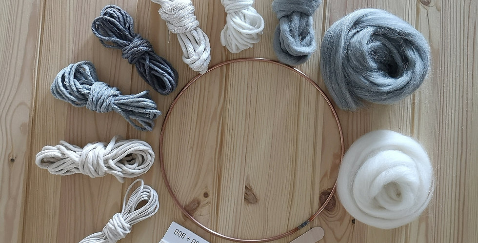 Circular Weaving Kit _Winter