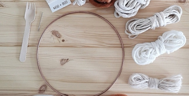 Circular Weaving Kit _Cinnamon