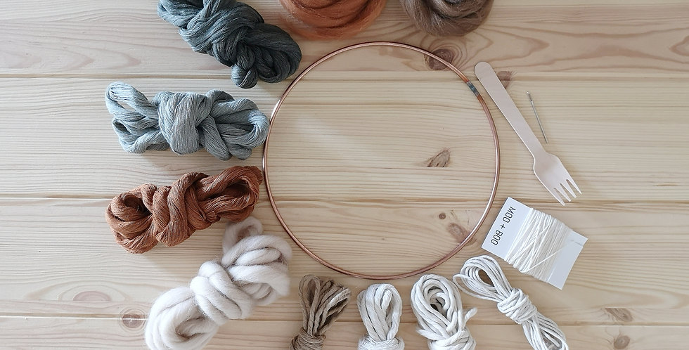 Circular Weaving Kit _Woodland