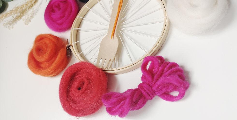 Mini Circular Weaving Kit _ Rebel