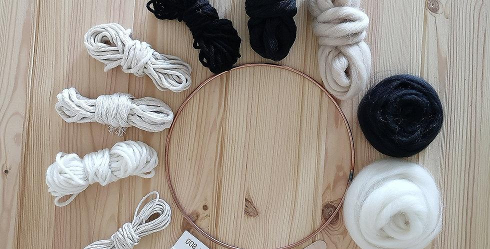 Circular Weaving Kit _Monochrome
