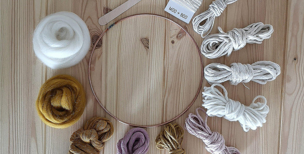 Circular Weaving Kit _Summer