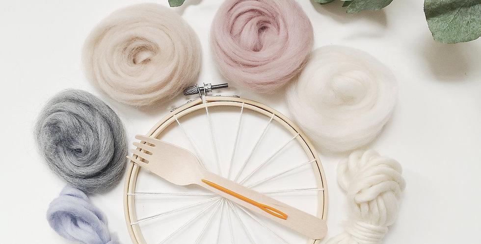 Mini Circular Weaving Kit _ land of nod