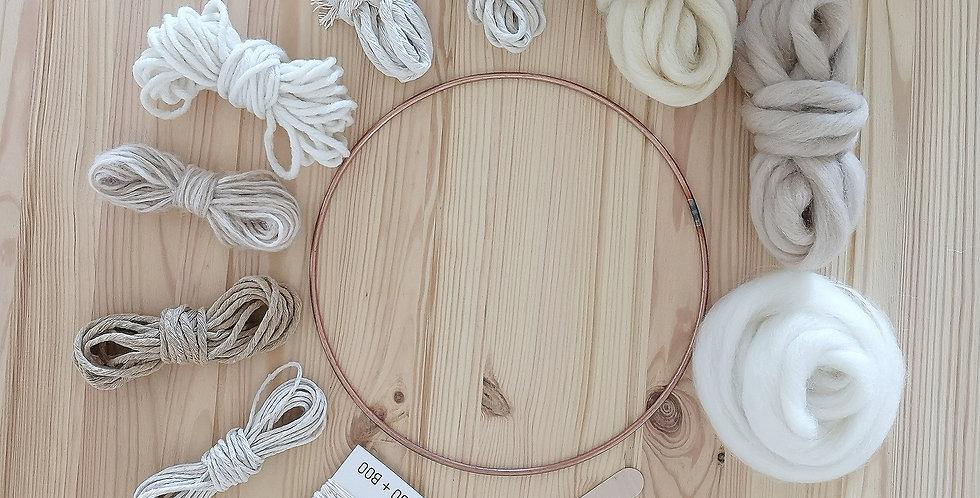 Circular Weaving Kit _Natural