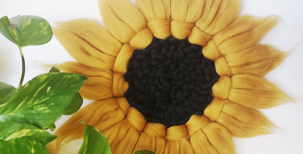 Sunflower // Circular Weaving Kit