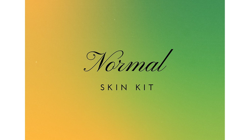 Normal Skin Kit