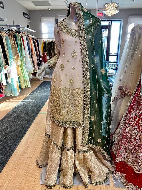 Semi Bridal Traditional Furshee Gharara