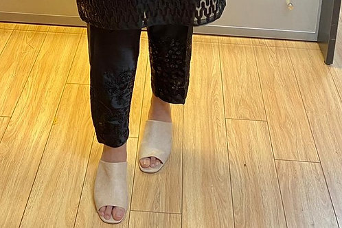 Black Embroidery Pants Only