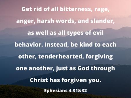 Kindness & Forgiveness
