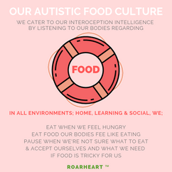 OUR AUTISTIC FOOD CULTURE
