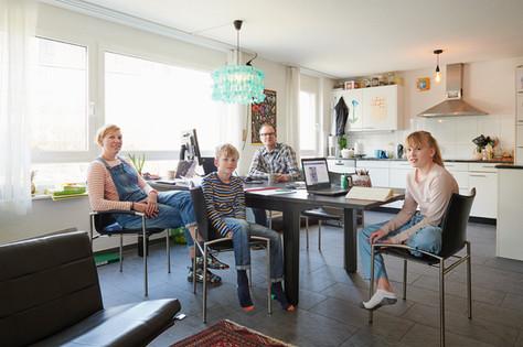 Fabienne, Bastien, Andi, Fleur