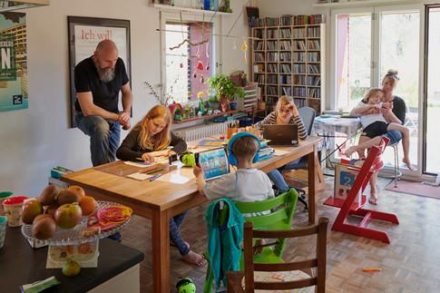 Christian, Amélie, Emil, Hanna, Seth, Anita