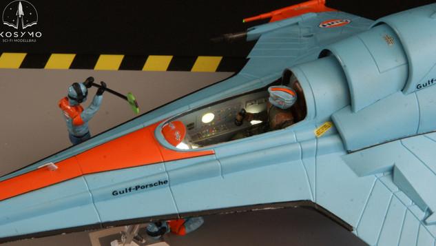 Viper MK-VII im Gulf-Porsche Design