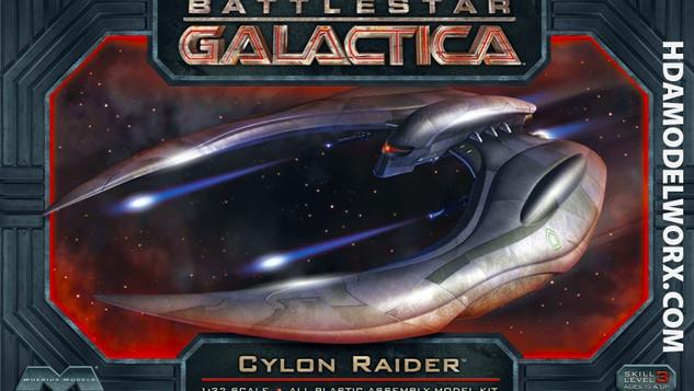 Cylon Raider Serie