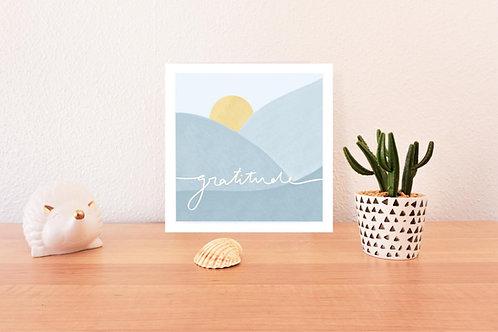 'Gratitude' Print