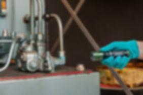 sızıntı tespiti hidrolik yağ kaçağı